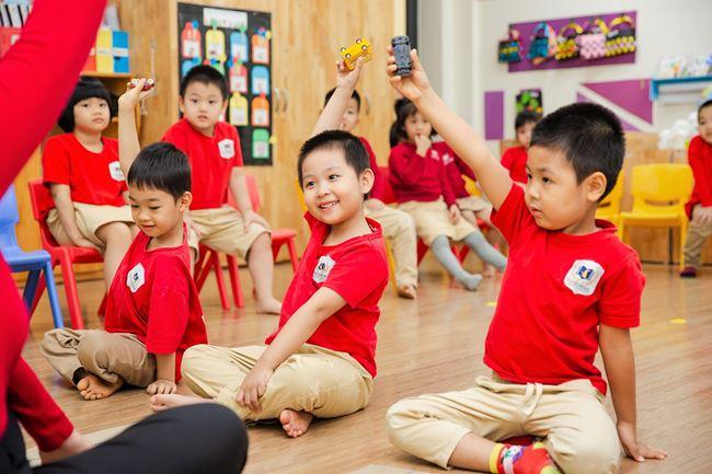 Chương trình học năng động, sáng tạo tại trường mầm non Vinschool Vinhomes Ocean Park