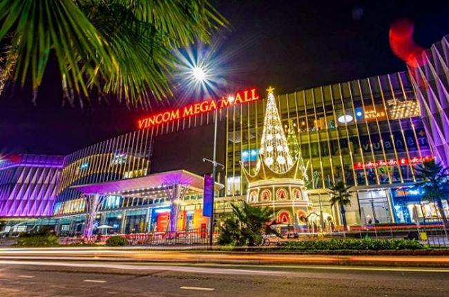 Không gian bên ngoài Vincom Mega Mall Ocean Park