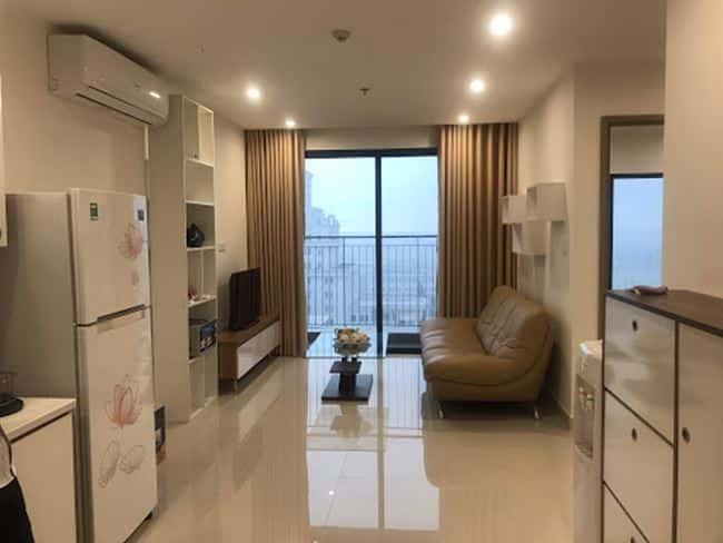 Không gian căn hộ 2 phòng ngủ 63m2 tại Vinhomes Ocean Park