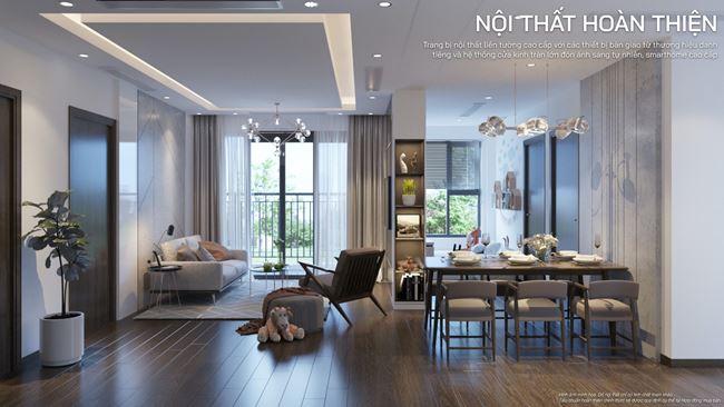 Thiết kế căn hộ cao cấp, sang trọng tại Vinhomes The Zenpark