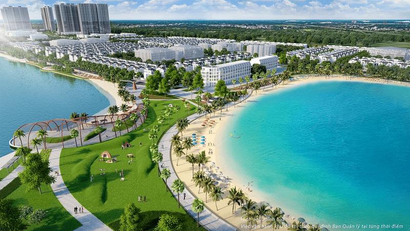 Thiết kế tiểu khu Sao Biển Vinhomes Ocean Park