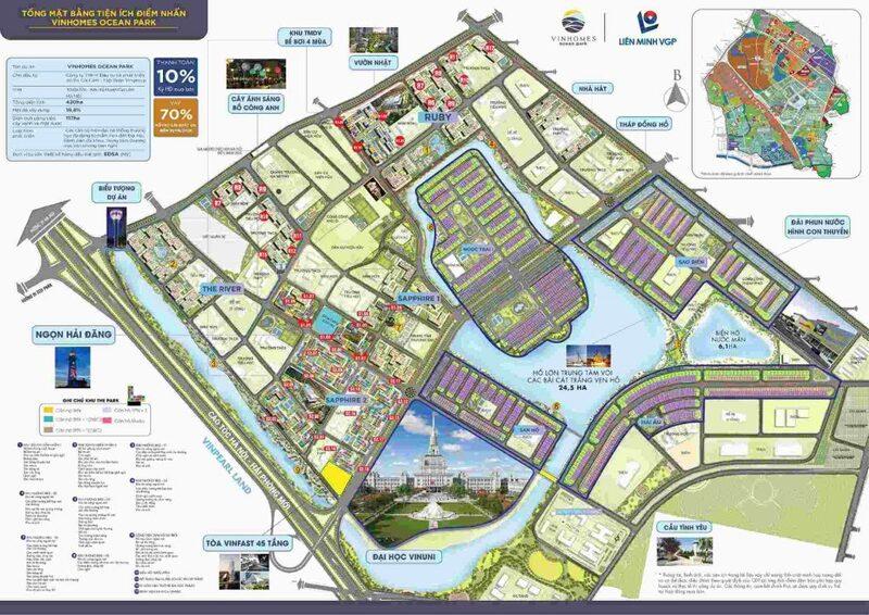 Tổng quan dự án Vinhome Ocean Park