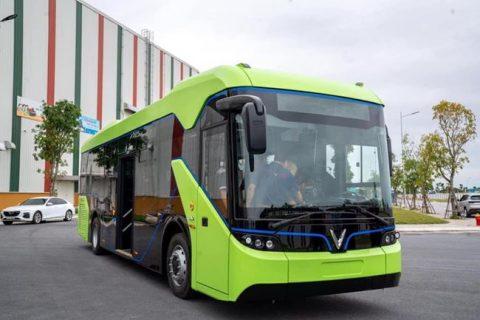 """Xe bus Ocean Park - Phương tiện di chuyển """"xanh"""" dành cho cư dân và du khách"""